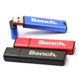 Capacité totale en aluminium d'entraînement de crayon lecteur de carte mémoire Memory Stick du flash USB 16GB