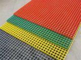 FRP 섬유유리 섬유에 의하여 강화되는 플라스틱 GRP 격자판