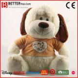 ASTM super weicher Spielzeug-Plüsch-Hundeangefülltes Tier für Kinder/Kinder