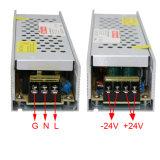 24V 250W amincissent le bloc d'alimentation de commutation de DEL pour le cadre léger