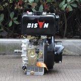 Bison (Chine) unique cylindre moteur diesel à axe vertical, le modèle 170f, la touche de démarrage du moteur diesel 5hp moteur Diesel de pompe à eau