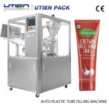 Full Auto-Gefäß-Einfüllstutzen-Maschine für zähflüssiges, flüssig, Soße, Paste, Mayonnnaise, Senf