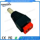 Connettore di corrente continua del CCTV con il terminale di vite rosso (PC102RD)