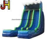 Три линии надувные водными горками для детей и взрослых