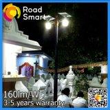 indicatore luminoso esterno solare della parete di 4-12W Bridgelux LED con Sontroller astuto