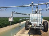 De Systemen van de Irrigatie van het Landbouwbedrijf van China/de de Vierwielige Towable Machine van de Irrigatie/Sproeier van de Irrigatie van het Landbouwbedrijf