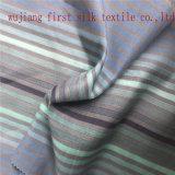 Tela de algodão de seda tingida fio da cor de Mult