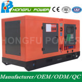 Water Cooling를 가진 Soundproof를 가진 50kw 63kVA Cummins Power Diesel Generator