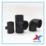 T igual de PVC para suprimento de água com a norma DIN 1.6MPa