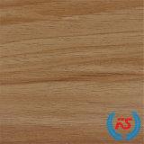 1250mm*2470mmのクルミの木製の穀物のメラミンによって浸透させるペーパー(3307-1)