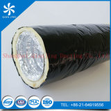 Conducto flexible de aluminio del aislante de la fibra de vidrio (película de Alu duct+PE)
