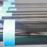 Q235B Q345b ERWの黒い円形の鋼鉄によって溶接される管