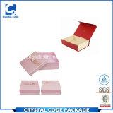 Rectángulo de empaquetado del perfume de papel extrafino elegante