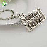 Alliage de zinc prix d'usine Mini jeu de clés personnalisé de promotion d'Abacus