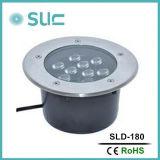 La venta caliente 7W impermeabiliza la lámpara subterráneo del LED