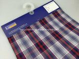綿の糸はドビーの小切手ファブリックLz8736を染めた