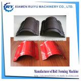 Rullo della protezione del Ridge del tetto del metallo che forma i prezzi della macchina con la taglierina automatica