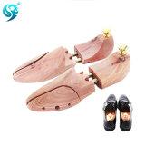 木の物質的なカスタムサイズによって調節されるヨーロッパの靴の木
