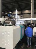 650tサーボ射出成形機械が付いているそして鋳造物のラベルのバケツ型をテストしなさい