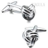 VAGULAの宝石類の銀のタキシードのカフスボタンのスタッド6PCSの一定の袖口Links