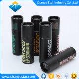 Kundenspezifisches biodegradierbares kosmetisches schwarzes Lippenstift-Papiergefäß