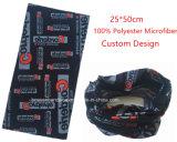 Полоса логоса продукции OEM фабрики изготовленный на заказ Allover напечатанная логосом многофункциональная головная