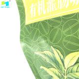 Mattbeschichtung-Kaffee-verpackenbeutel Degrassing Ventil-Seiten-Stützblech-Beutel