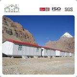 Fertighaus bringt Luxuxchina-Standard-helles Stahllandhaus unter