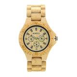 2018의 도매 품질 보증 주문 남자 및 여자의 대나무 목제 손목 시계 제조자