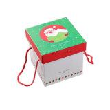 Casella impaccante di colore del regalo di stampa operata al minuto del pacchetto