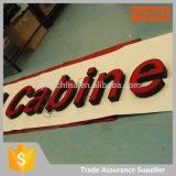 채널 편지 표시 LED 옥외 아크릴 편지를 광고하는 직업적인 공장 주문 사업