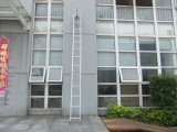 Liga de alumínio da escada do Gancho de dobragem