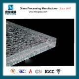 중국 가정 가구를 위한 공급자에 의하여 끊기는 디자인 얼음 깨지는 유리제 탁상용
