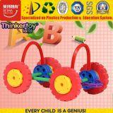 O Melhor Jogo de Blocos de Construção de Plástico Puzzle carro de brincar para crianças pré-escolares