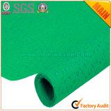 Verde no tejido de los materiales de embalaje de la flor y de regalo No. 9