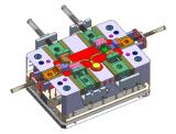 Инструмент алюминиевой отливки для Multiventuri Houing