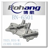De Dekking van de Koeler van de Olie van Nissan Td25 groot-M van het Vervangstuk van de Motor van Bonai (21305-43G01)