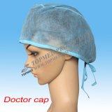 Chapeau médical non-tissé remplaçable de chirurgien avec la relation étroite en fonction