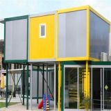 Prefabricated 콘테이너 집 20FT는 빨리 콘테이너 집을 설치한다