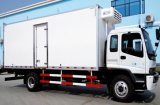 O alimento de Isuzu refresca o caminhão 4X2 do transporte caminhão do refrigerador de 8 T