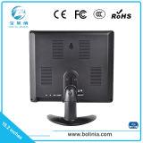 Estojo de plástico de 10,1 polegadas 1280*800 monitores de LCD de Controle Industrial