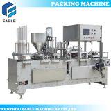 자동적인 자동 귀환 제어 장치 몬 회전하는 컵 충전물 및 밀봉 기계 (VFS-4C)