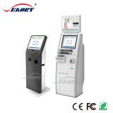 Chiosco resistente del distributore automatico del biglietto dello schermo di tocco di informazioni