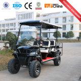 Chariot de golf à piles du prix usine 6 Seater