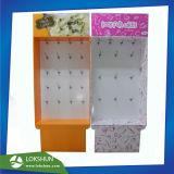 El punto de venta Publicidad Pegboard de cartón con la visualización de impresión Offset CMYK para herramientas de Cookie, expositor de cartón en el hogar