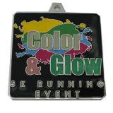 Glanz-laufende Medaille mit Firmenzeichen-Abzuglinie (GZHY-KC-022)