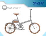Bicicleta elétrica da forma e da conveniência com tela do diodo emissor de luz