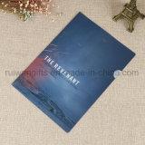 Carpeta de fichero plástica del asunto de encargo de la talla A4 para los regalos promocionales