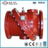 Clapet antiretour de pivotement de fonte ductile