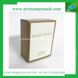 La nueva impresión de encargo de encargo de la insignia de la venta caliente compone la caja de belleza cosmética